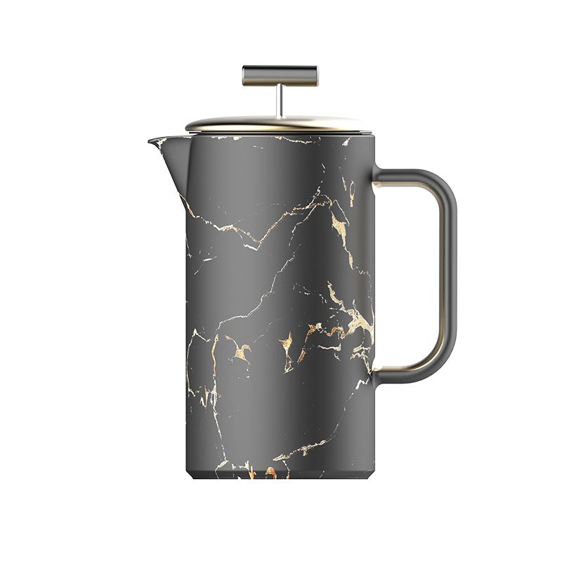marble finish coffee maker