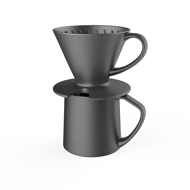 pour-over coffee dripper set