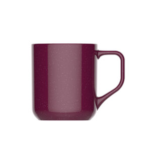 speckled tea mug