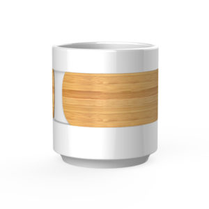 stackable travel coffee mug