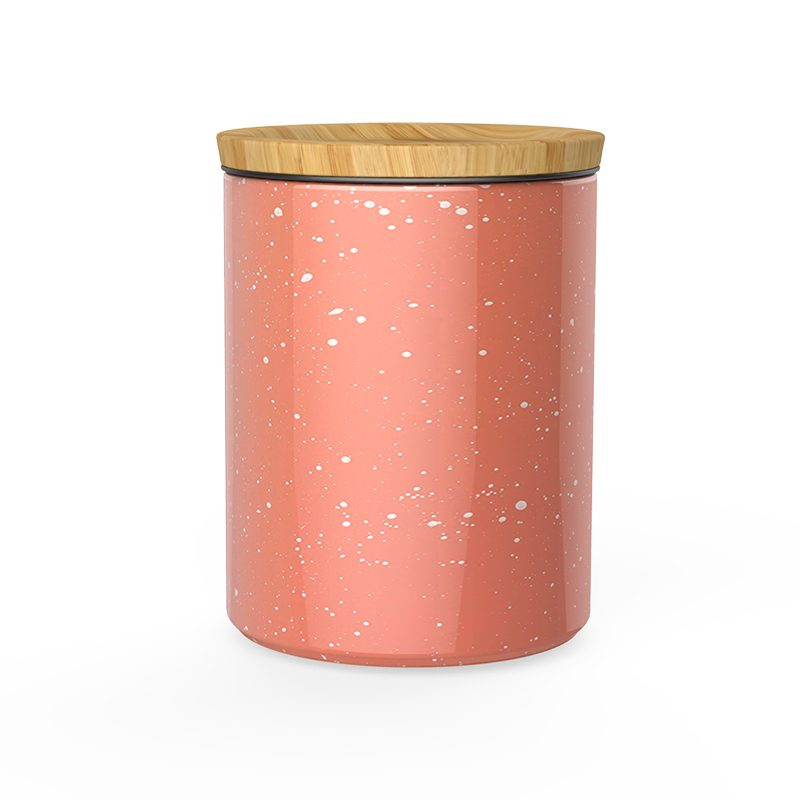 Speckled Ceramic Canisters