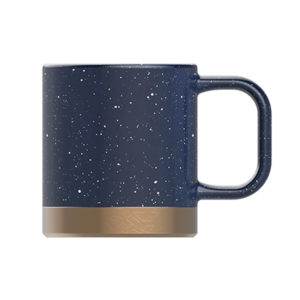 speckled coffee mug