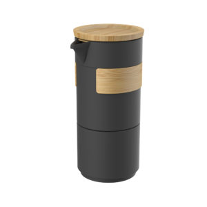 Wholesale Portable Tea Set with Bamboo Sleeve