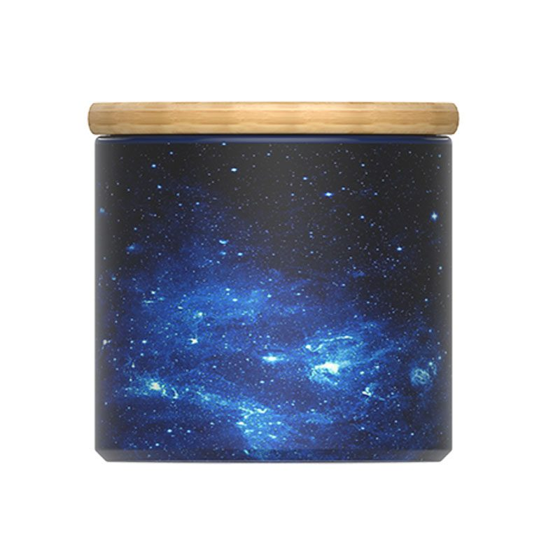 galaxy coffee canister
