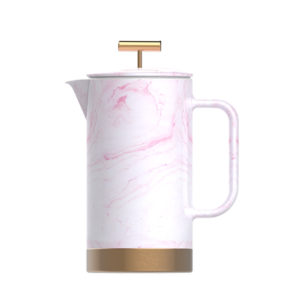Marble ceramic coffee press