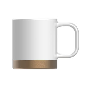 10oz retro coffee mug