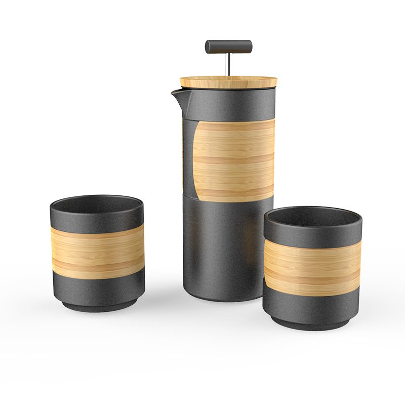 french press travel set